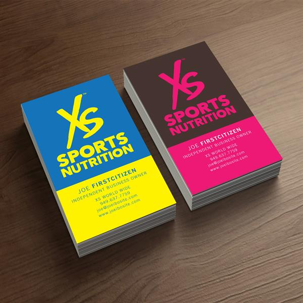 Xs sports nutrition business cards 250 cards amwaygear product image colourmoves Image collections